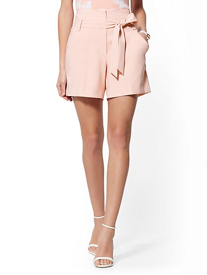 Pink 6 Inch Madie Short - 7th Avenue - New York & Company