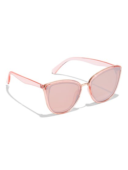Pink Cat-Eye Sunglasses - New York & Company