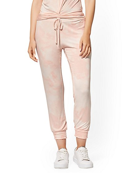 Pink Every Day Slim Jogger Pant - Soho Street - New York & Company