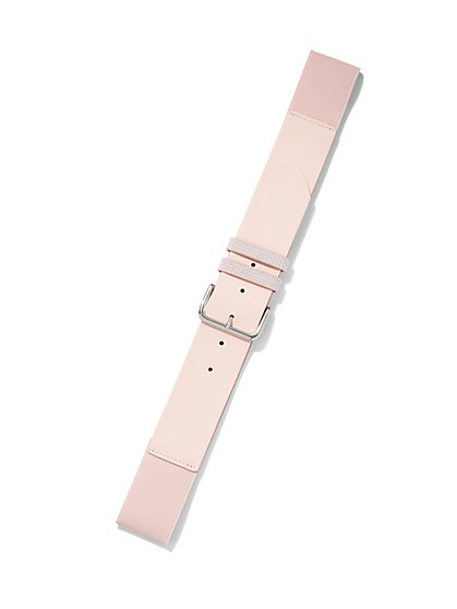 Pink Stretch Belt - New York & Company