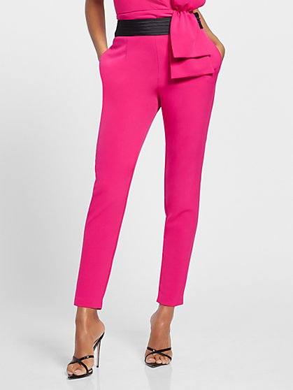 Pink Tuxedo Pant - Gabrielle Union Collection - New York & Company