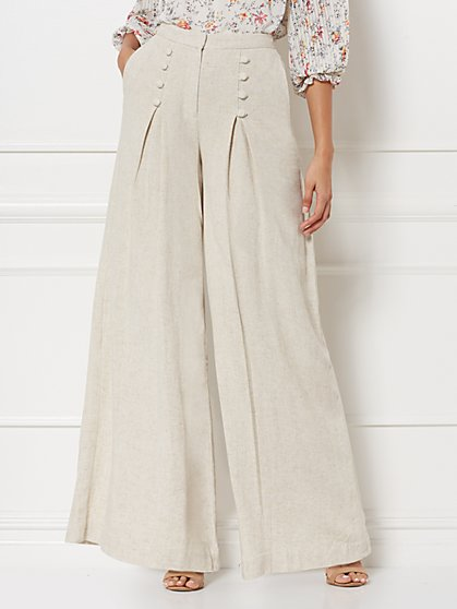 Piper Linen Pant - Eva Mendes Collection - New York & Company