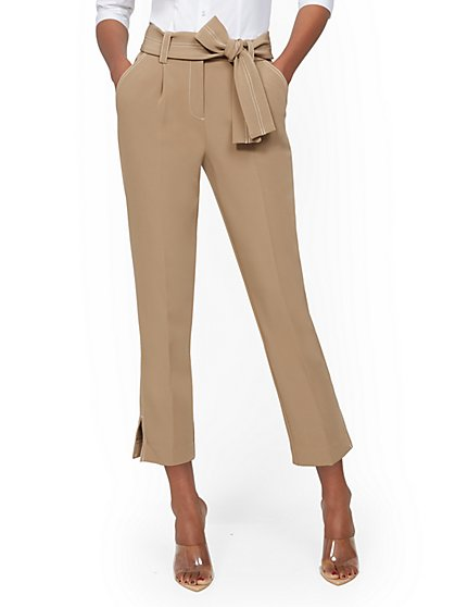 Pleated Ankle Pant - 7th Avenue - New York & Company