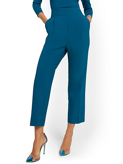 Pleated-Front Pant - 7th Avenue - New York & Company