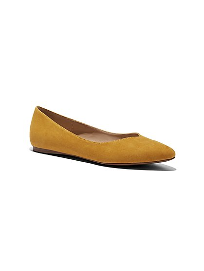 Pointed-Toe Flat - New York & Company