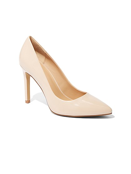 Pointed-Toe Pump - New York & Company