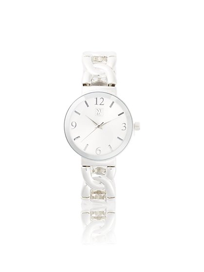 Polished Link Watch - New York & Company