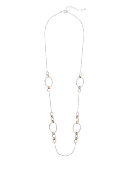 Polished Open-Link Necklace - New York & Company