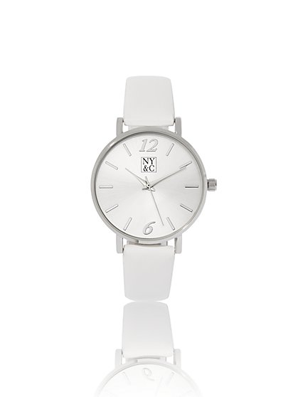 Polished Round-Case Watch - New York & Company