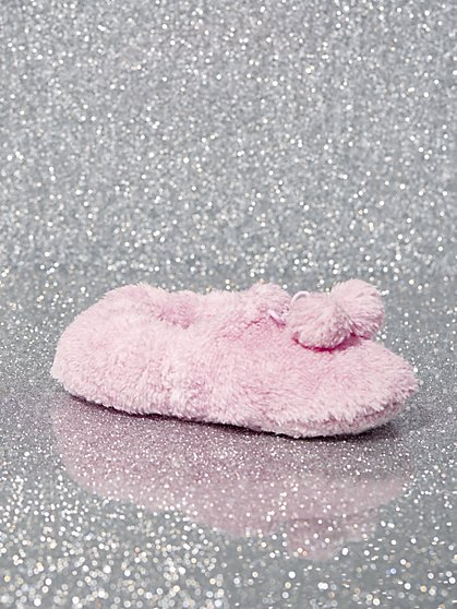 Pom-Pom Slipper Socks - New York & Company