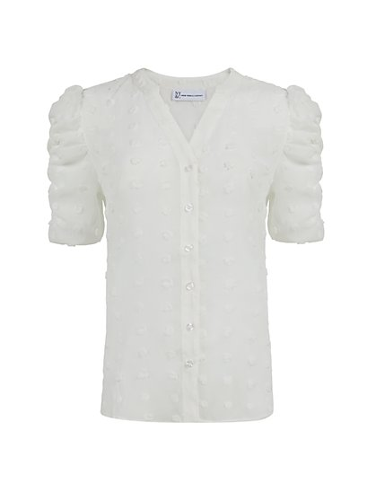 Puff-Sleeve Shirt - New York & Company