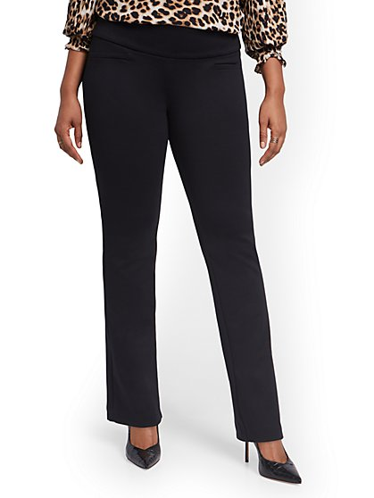 Pull-On Bootcut Ponte Pant - Superflex - New York & Company