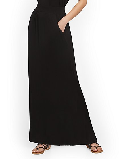 Pull-On Maxi Skirt - NY&C Style System - New York & Company