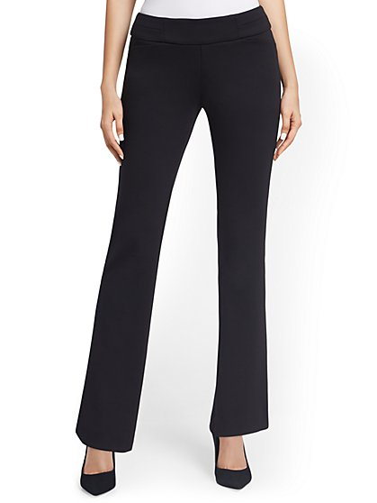 Pull-On Straight-Leg Pant - Superflex - New York & Company