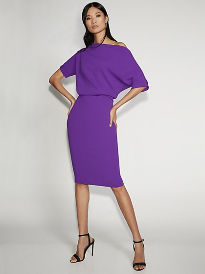 Purple Sheath Dress - Gabrielle Union Collection - New York & Company