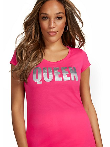 Queen Graphic Tee - New York & Company