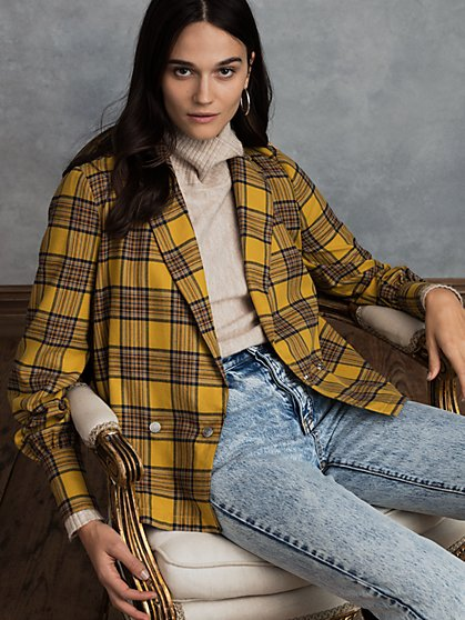 Quest Plaid Top - New York & Company