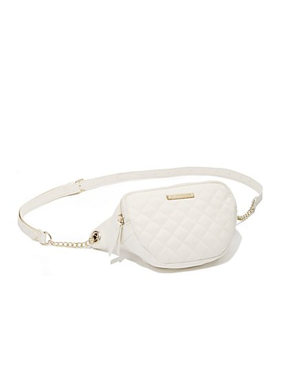 Quilted Fanny Pack - New York & Company