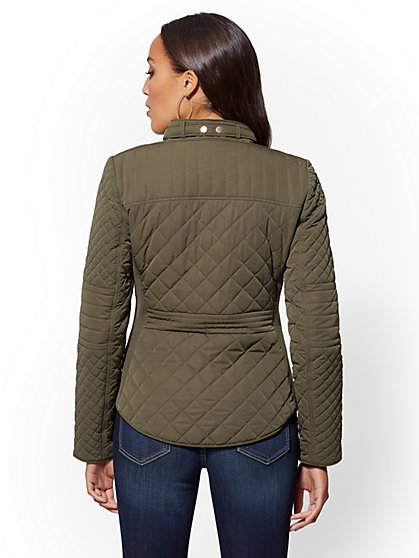 51465774db3 ... Quilted Jacket - New York   Company