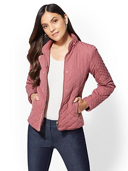 Quilted Jacket - New York & Company