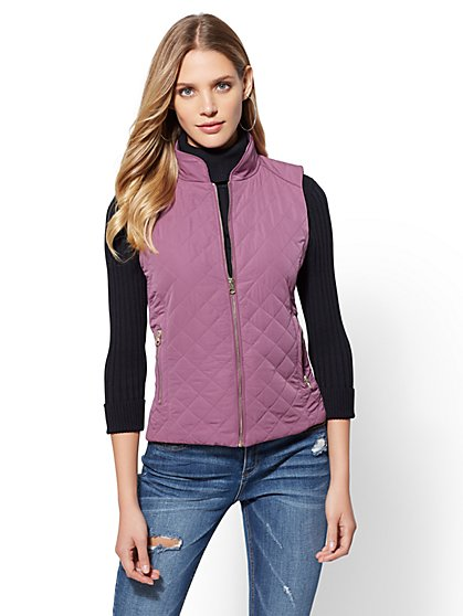 Quilted Vest - New York & Company