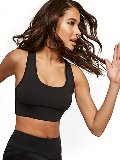 Racerback Sports Bra - New York & Company