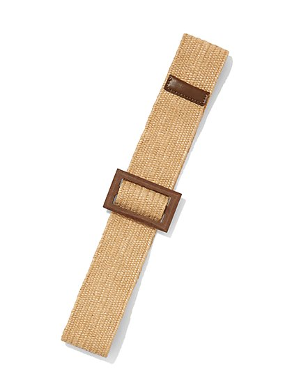 Raffia Belt - Eva Mendes Collection - New York & Company