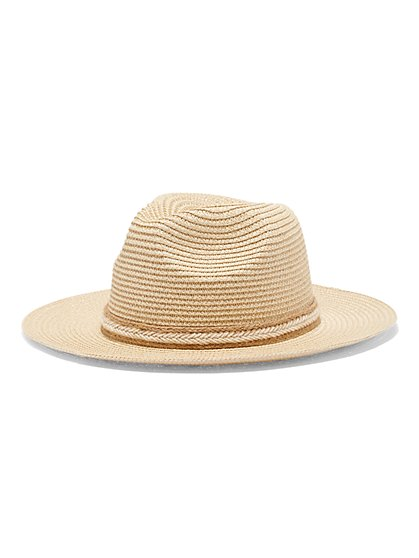 Raffia Floppy Hat - New York & Company