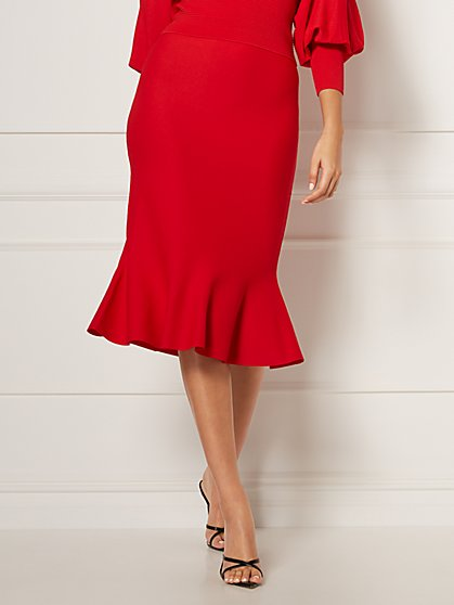 Raissa Trumpet Skirt - Eva Mendes Collection - New York & Company