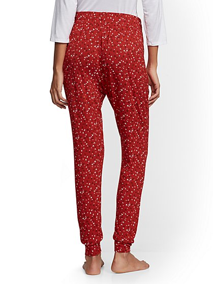 59fc294c4004 ... Red Heart-Print Pajama Pant - New York   Company