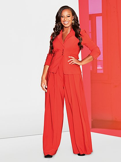 Red Three-Button Jacket - Gabrielle Union Collection - New York & Company