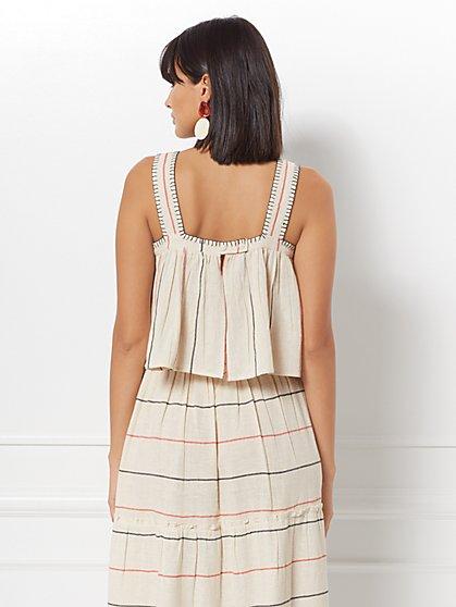 186627641 ... Reghan Stripe Linen Top - Eva Mendes Collection - New York   Company ...