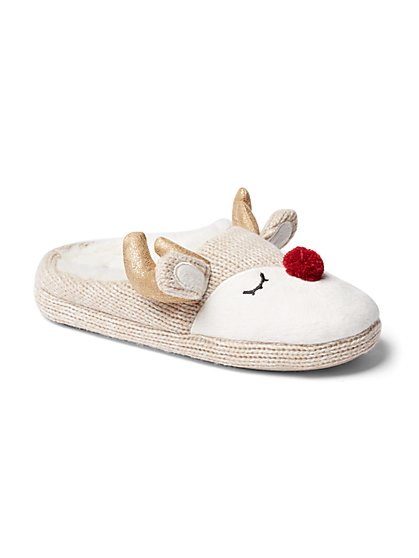 Reindeer Slipper - New York & Company