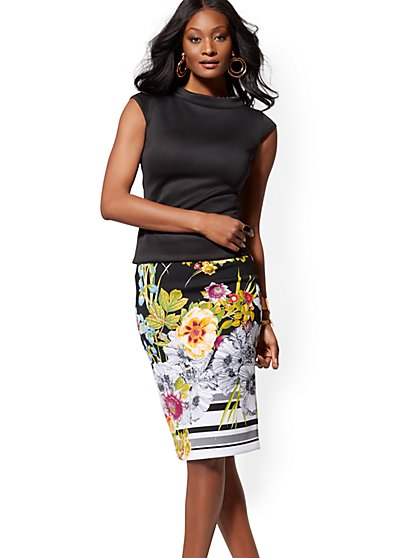 Reversible Pencil Skirt - 7th Avenue - New York & Company