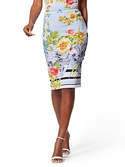 309941572efe3 Reversible Pencil Skirt - 7th Avenue - New York   Company ...