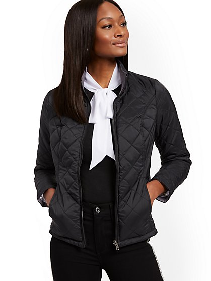 Reversible Quilted Jacket - New York & Company