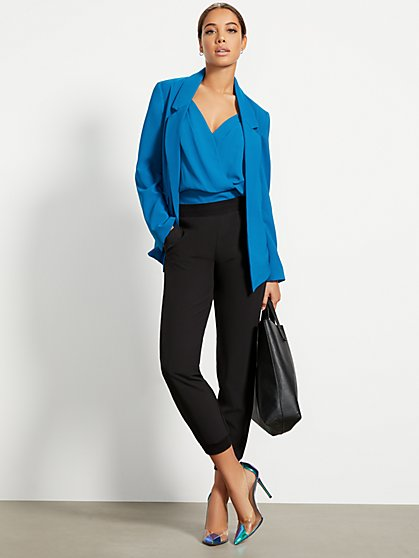 Rib Track Everywhere Pant - Soho Street - New York & Company