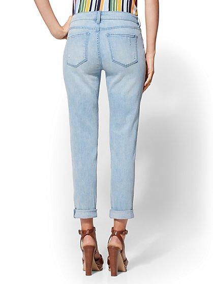 09408bfa3494 ... Rip   Repair Curvy Boyfriend Jeans - Soho Jeans - New York   Company