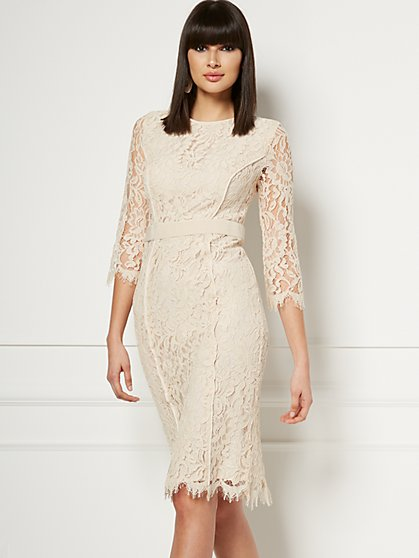 Romina Lace Sheath Dress - Eva Mendes Fiesta Collection - New York & Company