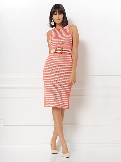 a4ee3a1d3 Ronda Stripe Sweater Dress - Eva Mendes Collection - New York & Company ...