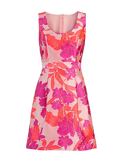 Rosanna Jacquard Dress - Eva Mendes Fiesta Collection - New York & Company