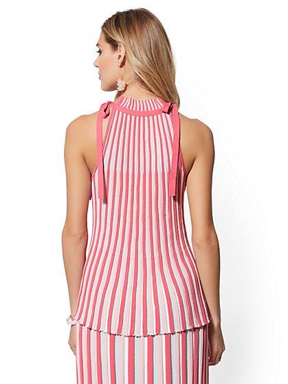 d132e48fe4969 ... Rose Stripe Halter Sweater - New York   Company ...