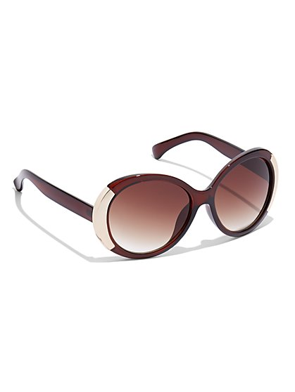 Round Sunglasses - New York & Company