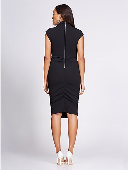 1b6a7e4c3c1 ... Ruched Sheath Dress - Gabrielle Union Collection - New York   Company