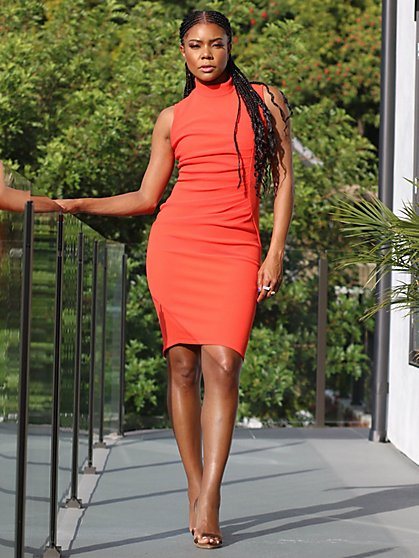 Ruched Sheath Dress - Gabrielle Union Collection - New York & Company