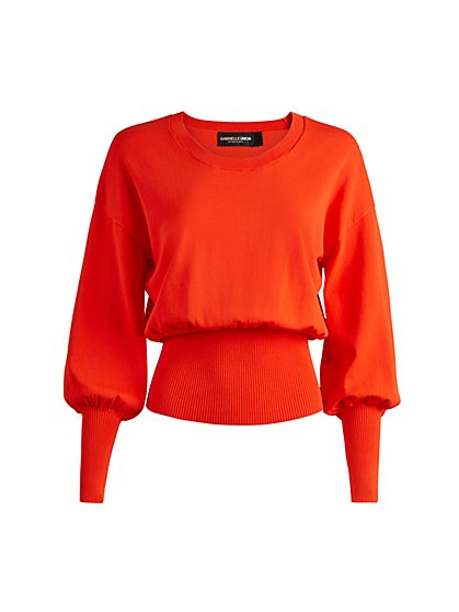 Ruffle-Back Sweater - Gabrielle Union Collection - New York & Company