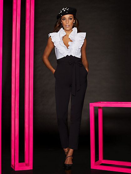 Ruffle Jumpsuit - New York & Company