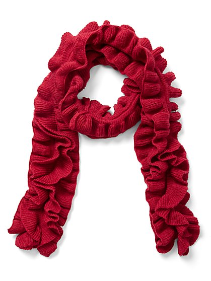 Ruffled Scarf - New York & Company