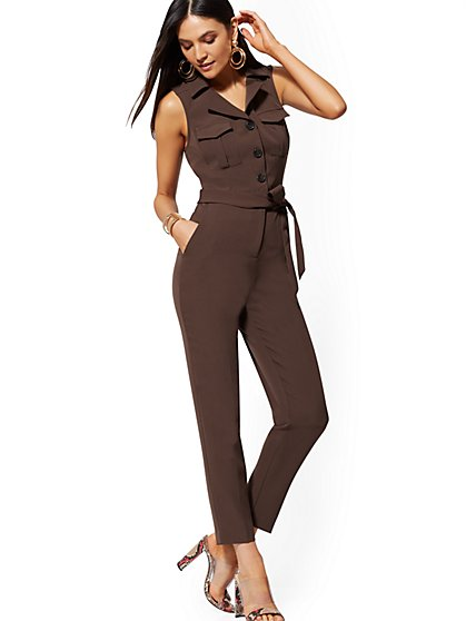 Safari Jumpsuit - New York & Company
