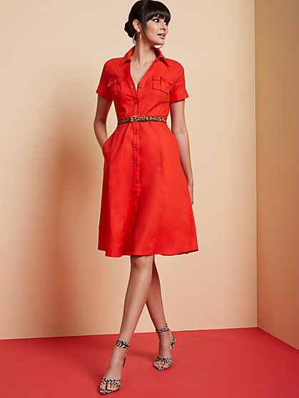 Safari Shirtdress - New York & Company